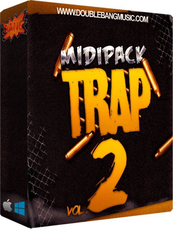 Double Bang Music Trap Midi Pack Vol 2 WAV MiDi